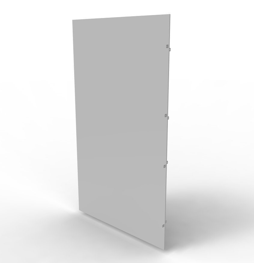 An image of Vertiv knürr partition panel move knuerr dcm h2200 d1000 set