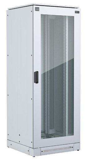 An image of Vertiv knürr mir2 network rack h2200 w800 d800