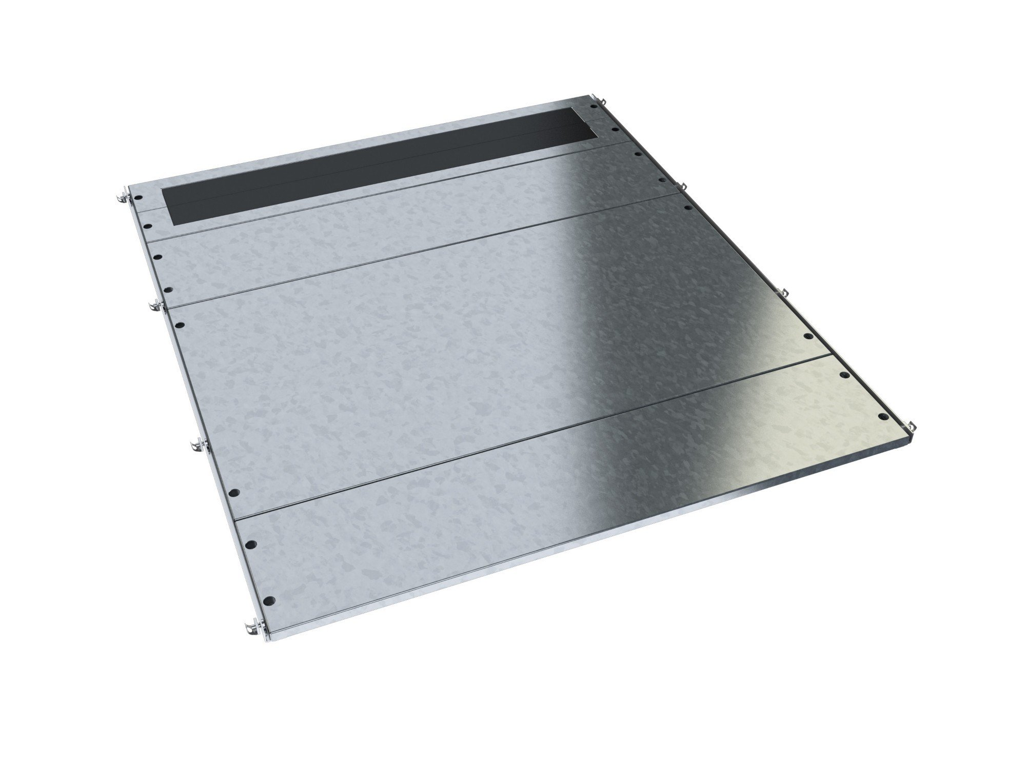 An image of Vertiv bottom cover-set w600/d1200 ce