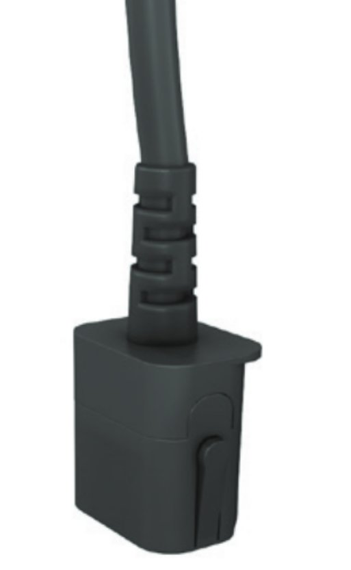 An image of Vertiv avocent 39514550001 power cable black 0.5 m c19 coupler