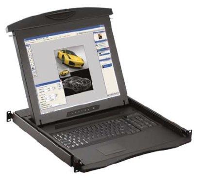 "An image of Austin hughes electronics ltd n117, 1x ce-6 17"" 1280 x 1024pixels black rack con..."