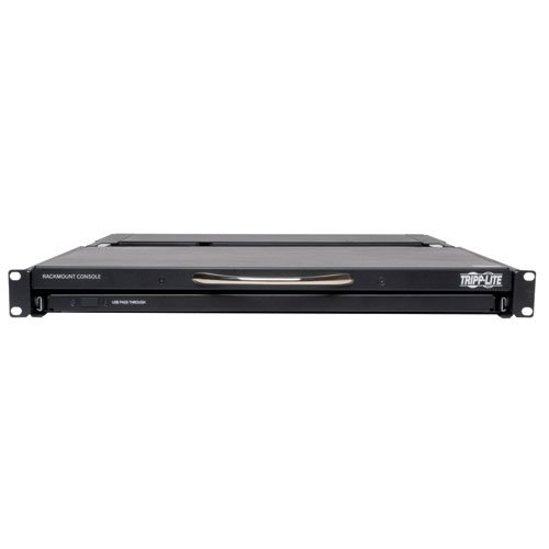 An image of Tripp lite 1u rack-mount console with 19-in. lcd