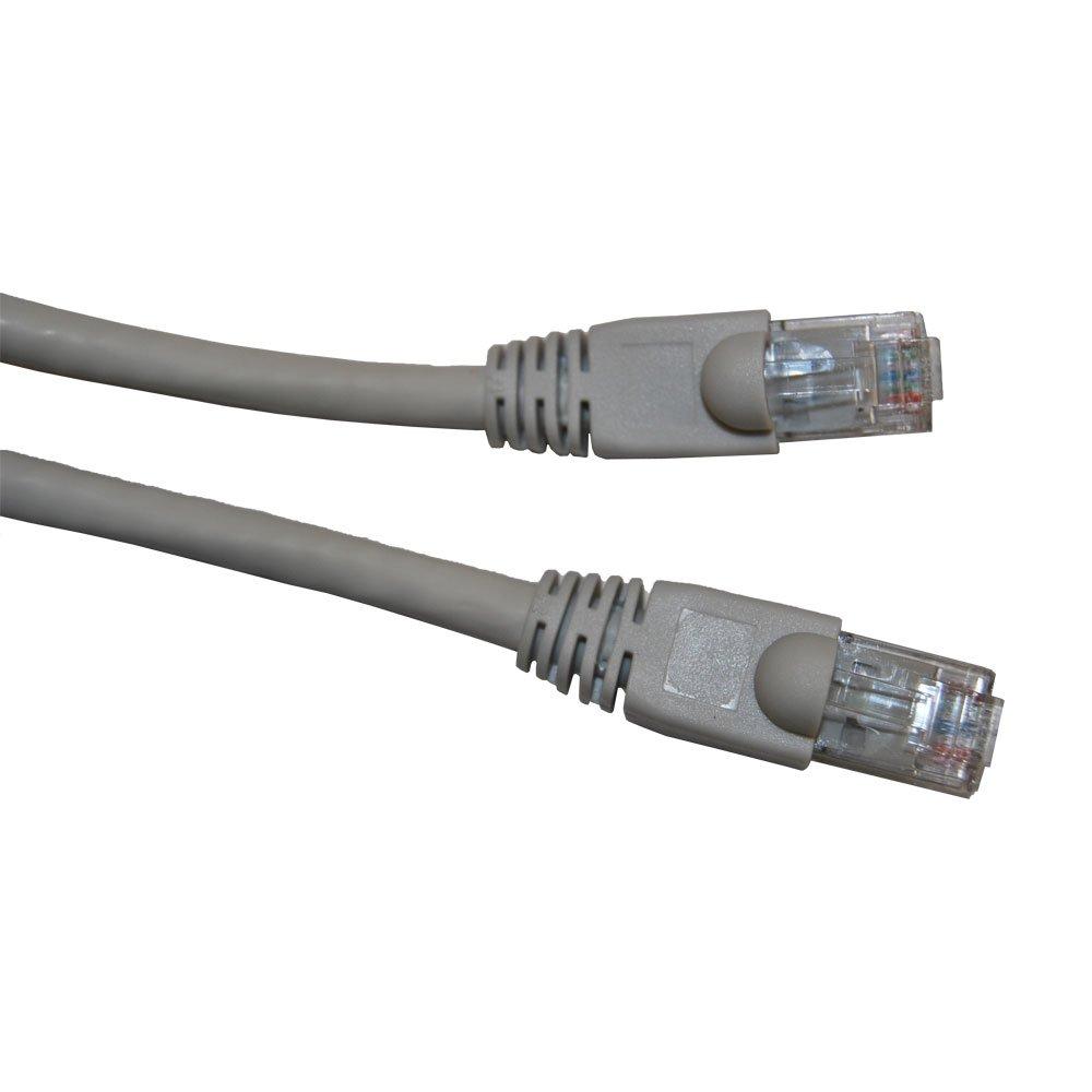 An image of Videk 2993-0.5 0.5m cat6 u/utp (utp) beige networking cable
