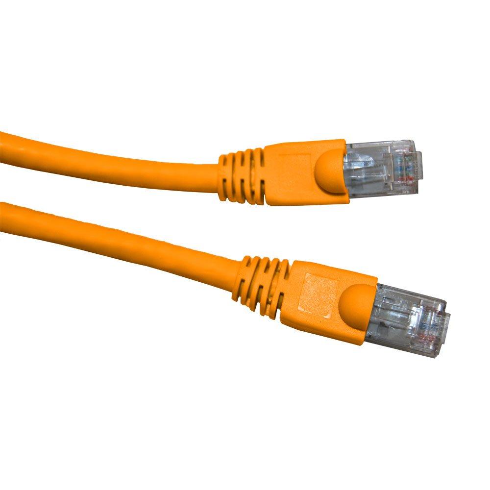 An image of Videk 2993-0.5rg 0.5m cat6 u/utp (utp) orange networking cable