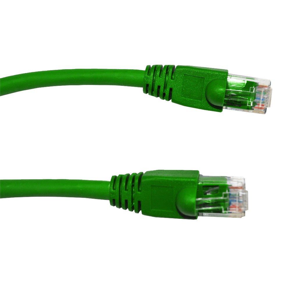 An image of Videk 2993-0.5g 0.5m cat6 u/utp (utp) green networking cable