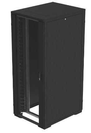 An image of Eaton ncr47810spb wall mounted rack 47u 225kg black rack