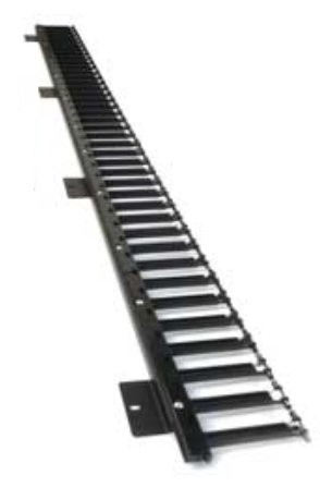 An image of Eaton nra47urcmfkb rack cable management panel rack accessory