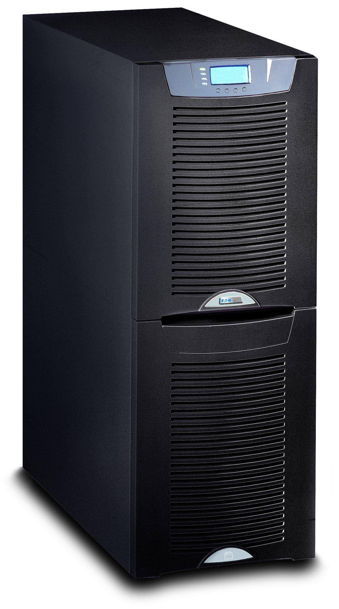An image of Eaton powerware 9155-8-n-0-32x0ah-mbs 8000va tower black uninterruptible power s...