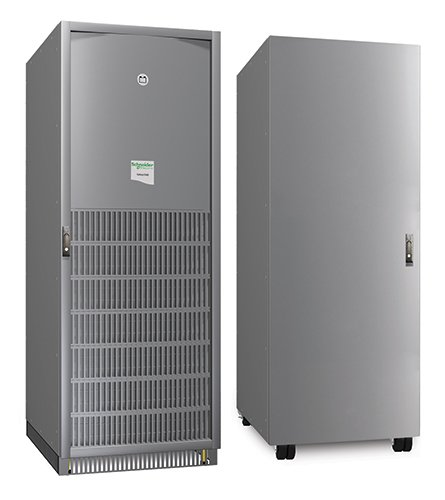 An image of APC mge galaxy 5500 grey uninterruptible power supply (ups)