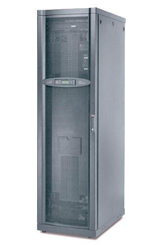 An image of APC infrastruxure PDU 60kw power distribution unit (PDU) black