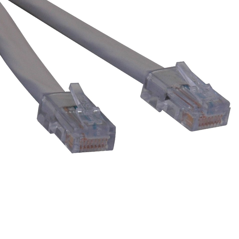 An image of Tripp lite t1 shielded rj48c cross-over cable (rj45 m/m), 0.91 m