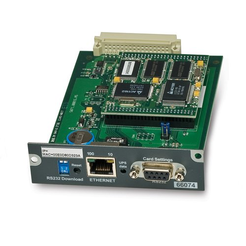 An image of APC mge snmp/web card internal ethernet 100 mbit/s