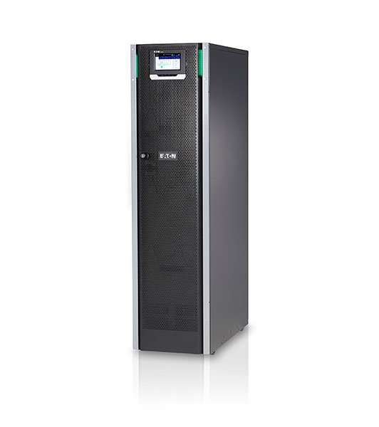 An image of Eaton 93ps double-conversion (online) 20000va tower black uninterruptible power ...