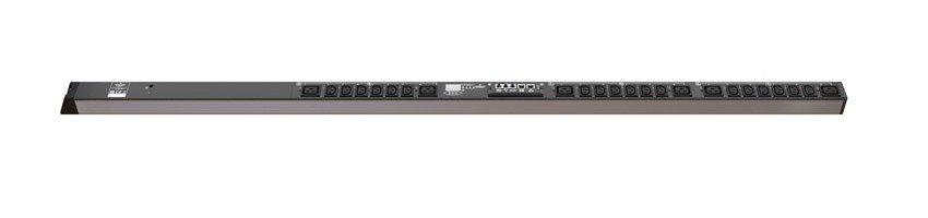 An image of Vertiv mph2 rack PDU, outlet metered, 0u, input IEC 60309 230v 16a, output (18)c...
