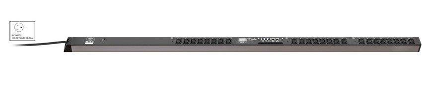 An image of Vertiv mph2 rack PDU, outlet metered, 0u, input IEC 60309 230v 16a, output (24)c...