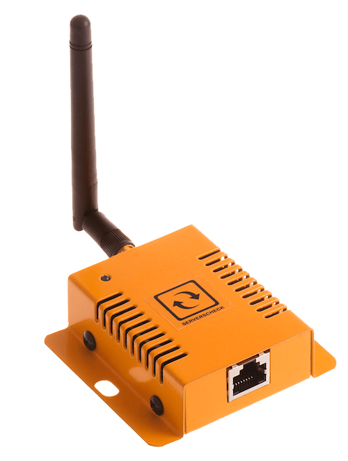 An image of ServersCheck wireless sensorhub for sensorgateway