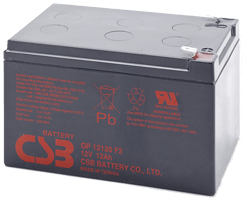 An image of CSB GP 12120 f2 12ah 12v Battery