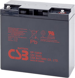 An image of CSB GP 12200 i1 20ah 12v Battery