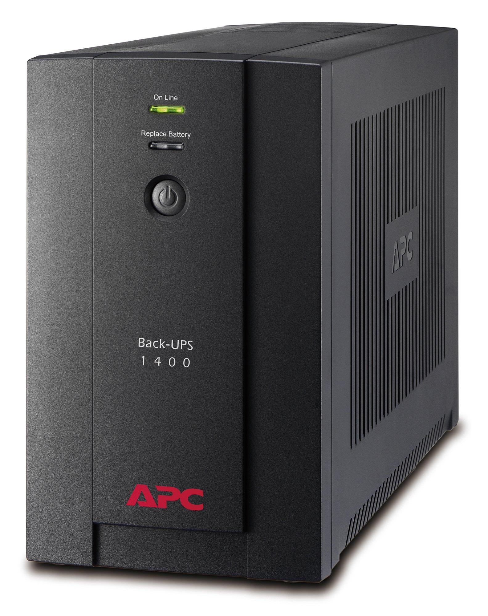 An image of APC Back-UPS 1.4kVA Line Interactive 230V (UPS) (Europe)