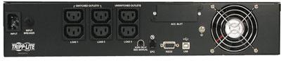 An image of Tripp Lite SmartPro 230V 1kVA 900W Line-Interactive Sine Wave UPS, 2U Rack/Tower...