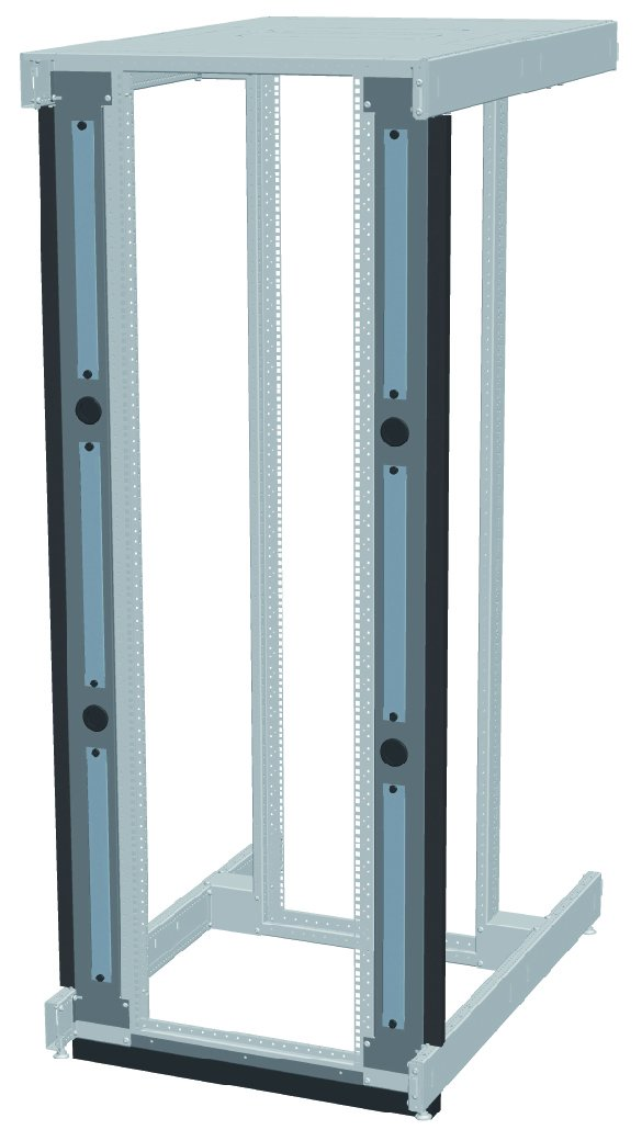 An image of Vertiv Knurr inr server/network rack air partitioning 47 u 3x1u slots, for easy ...