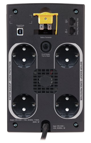 An image of APC bx1100ci-gr uninterruptible power supply (ups)