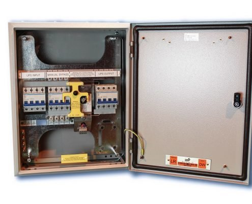 An image of CPS Compact 63A Single Phase Bypass Switch (1:1)