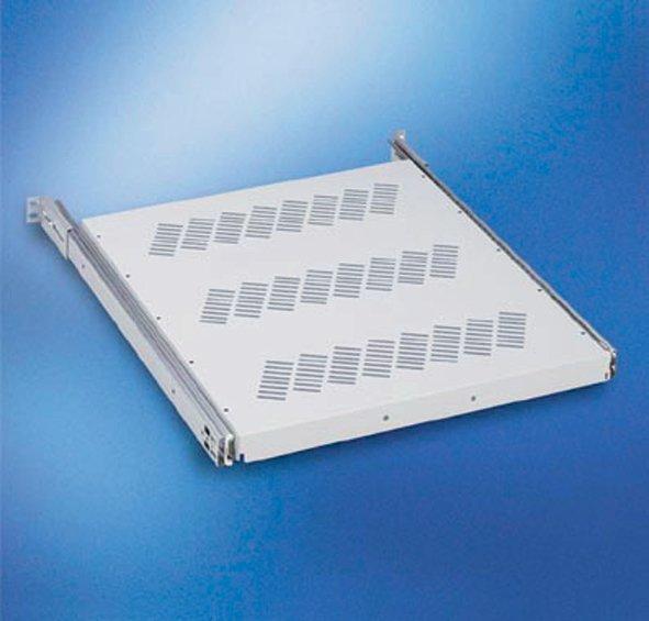 "An image of Vertiv shelf full extension 19"" d565-750mm"