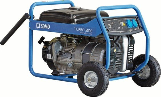 SDMO Turbo 5000 Generator  for mission a