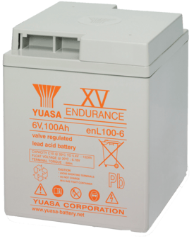 Yuasa Battery ENL100-6, ten year design
