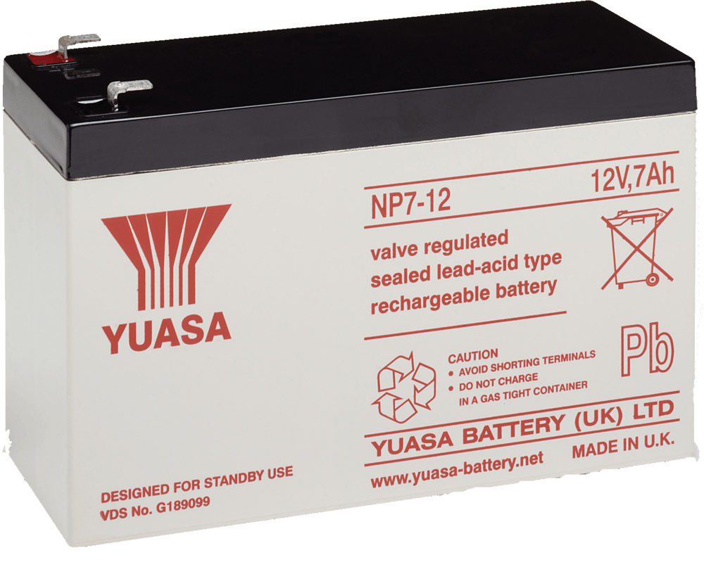 Yuasa Battery Np7 12 Np7 12 Critical Power Supplies