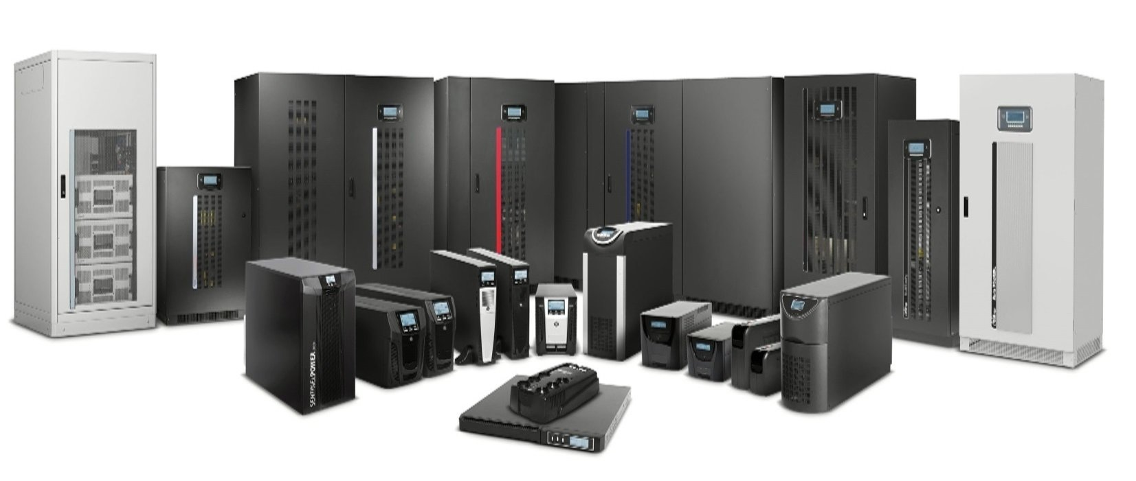 Critical Power Supplies - Riello UPS product range for backup supplies from small home units to mega data centres.