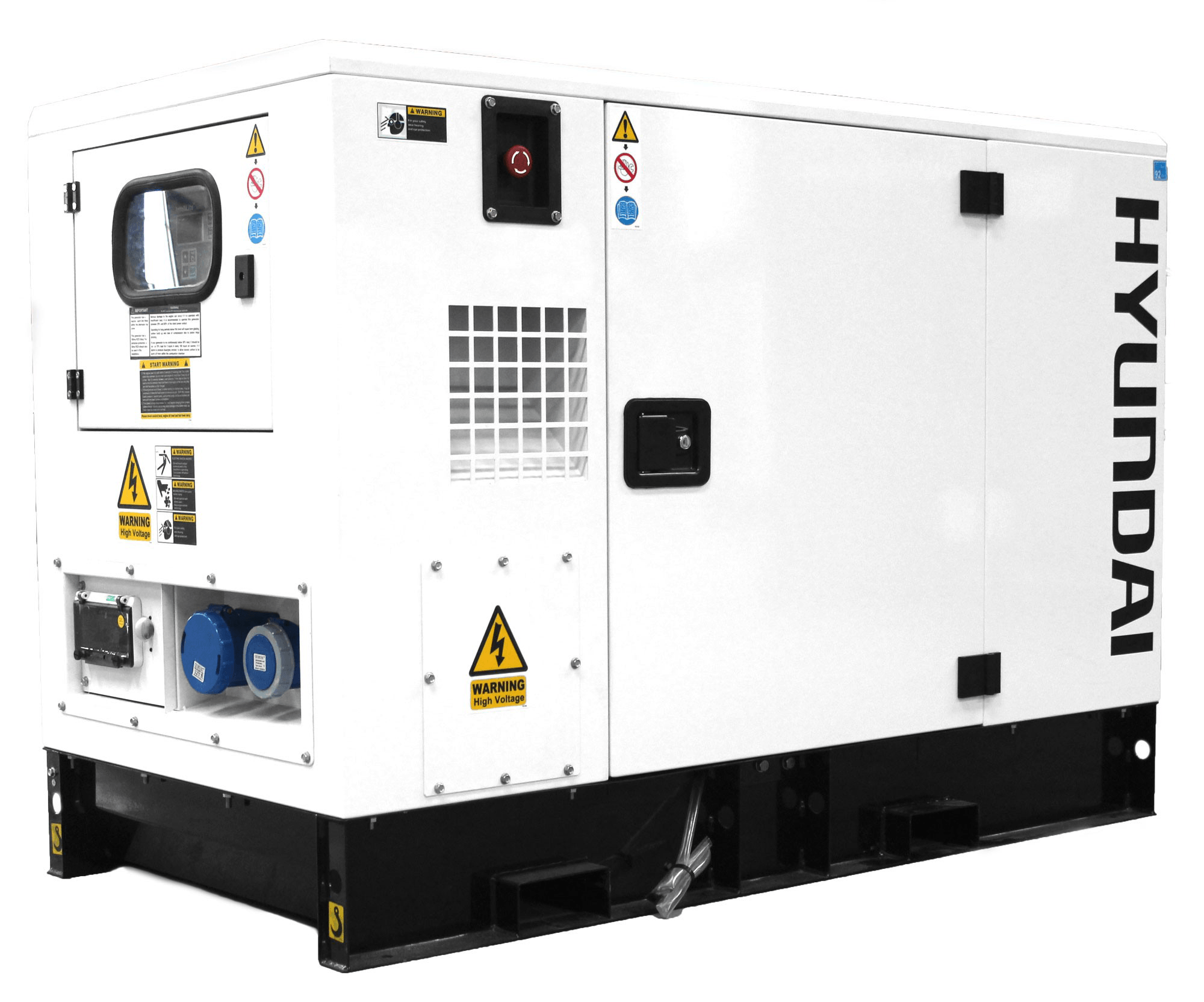 Hyundai dhy9ksem 9kva silent single phase sel
