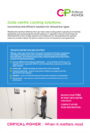 Critical Power Supplies - Data Centre Cooling
