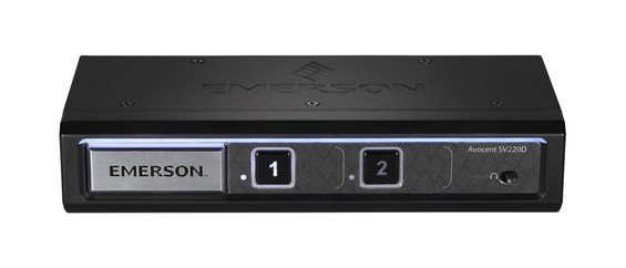 Critical Power Supplies - Avocent SwitchView SV220-201 Black K