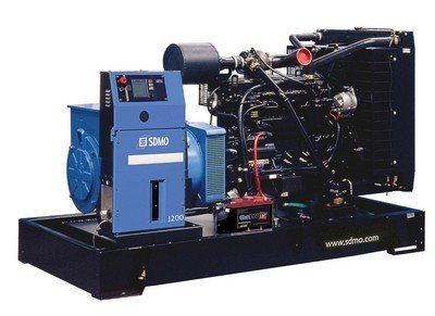 Critical Power Supplies - SDMO J200K Generator for mission applica