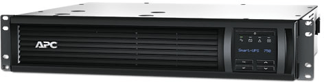 Critical Power Supplies - APC SmartUPS 750VA RM2U Front Rackmount