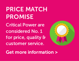 Critical Power Supplies - Price Match Promise